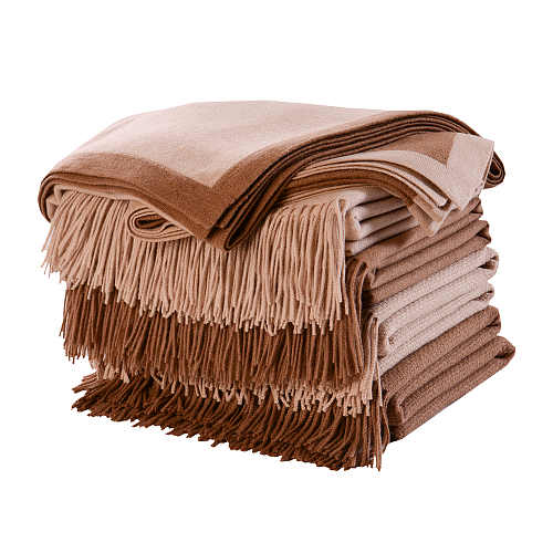 Fibre by Auskin Camel Throw.