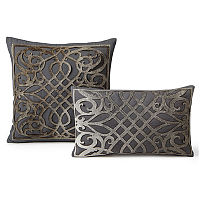 Fibre by Auskin Cowhide Dame Decorative Pillow