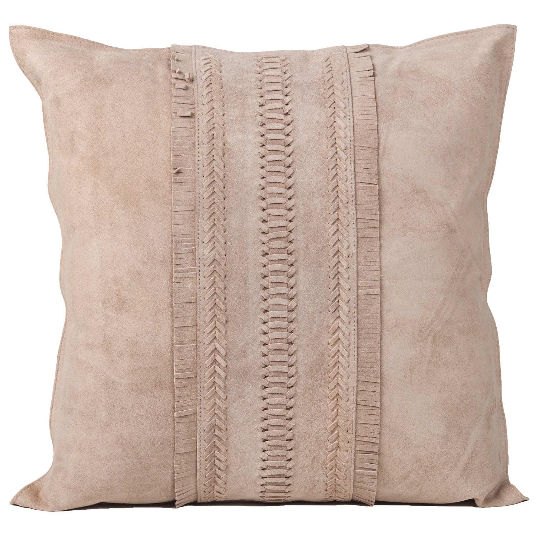 Fantastic Fibre By Auskin Dark Beige Suede Decorative Pillows Andrewgaddart Wooden Chair Designs For Living Room Andrewgaddartcom