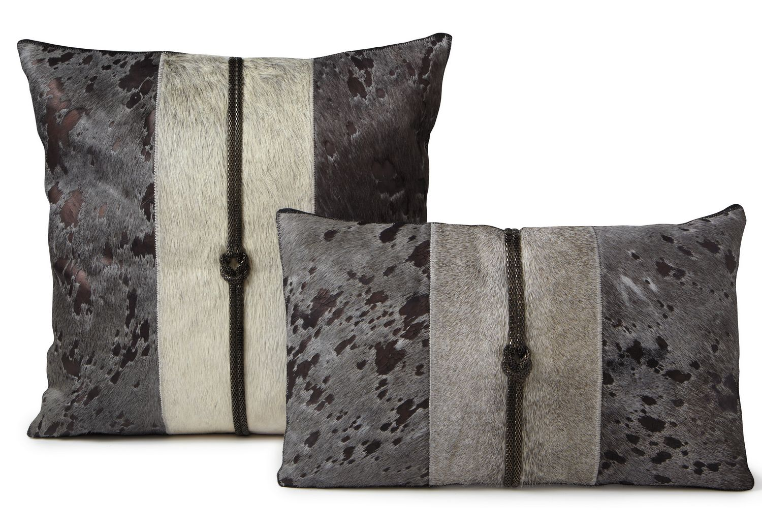 Fibre by Auskin Cowhide Twilight Decorative Pillows