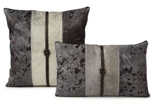 Fibre by Auskin Cowhide Twilight Decorative Pillow