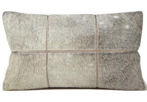 Fibre by Auskin Cowhide Parcele Decorative Pillow