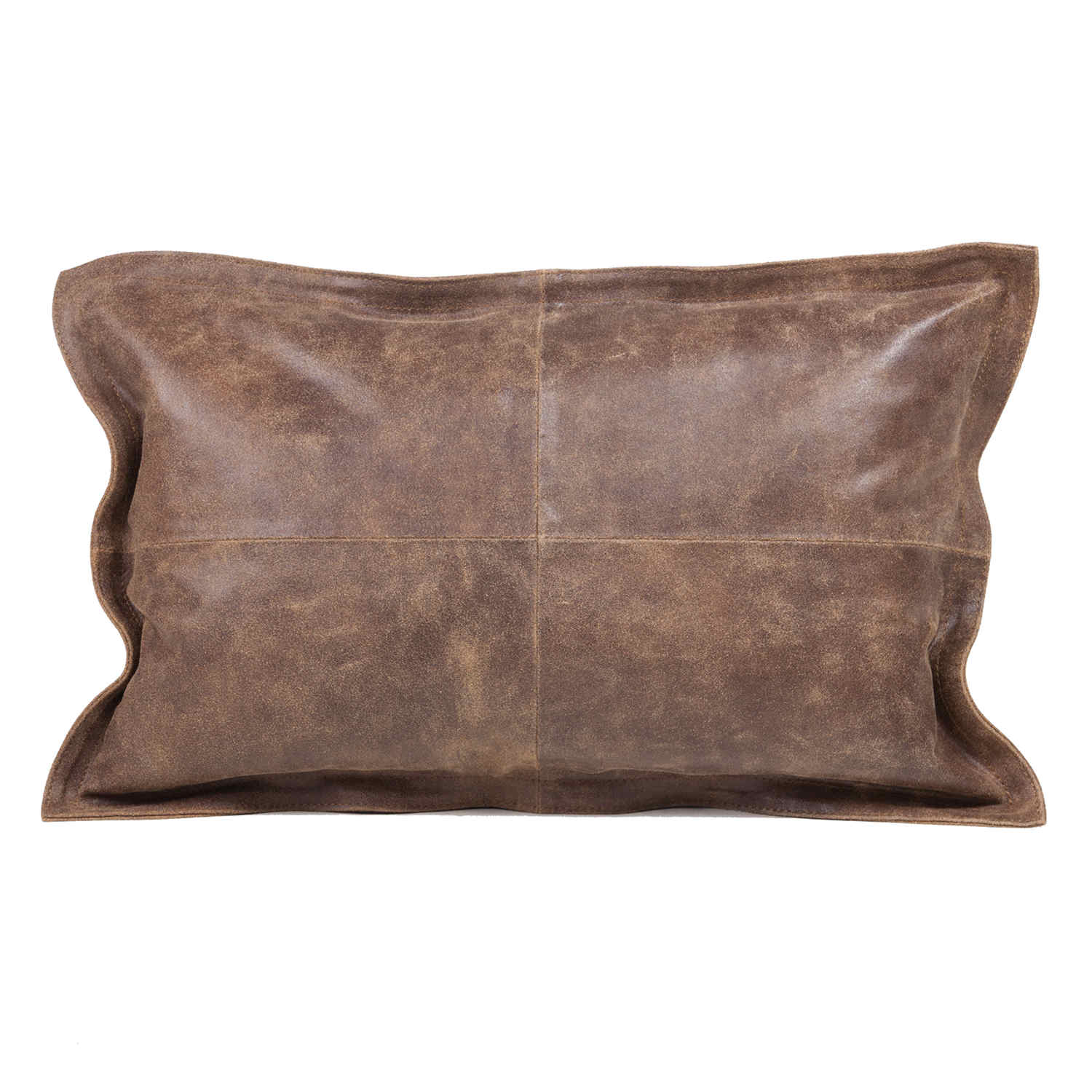 Decorative Pillow Brown : Fibre by Auskin Vintage Brown Cowhide Decorative Pillows