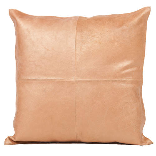 Fibre by Auskin Vintage Copper Cowhide Decorative Pillows