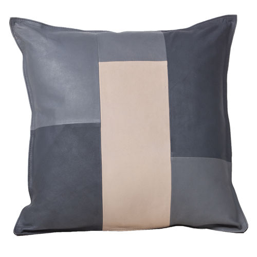 Fibre by Auskin Goatskin Decorative Pillows - Tri Color.