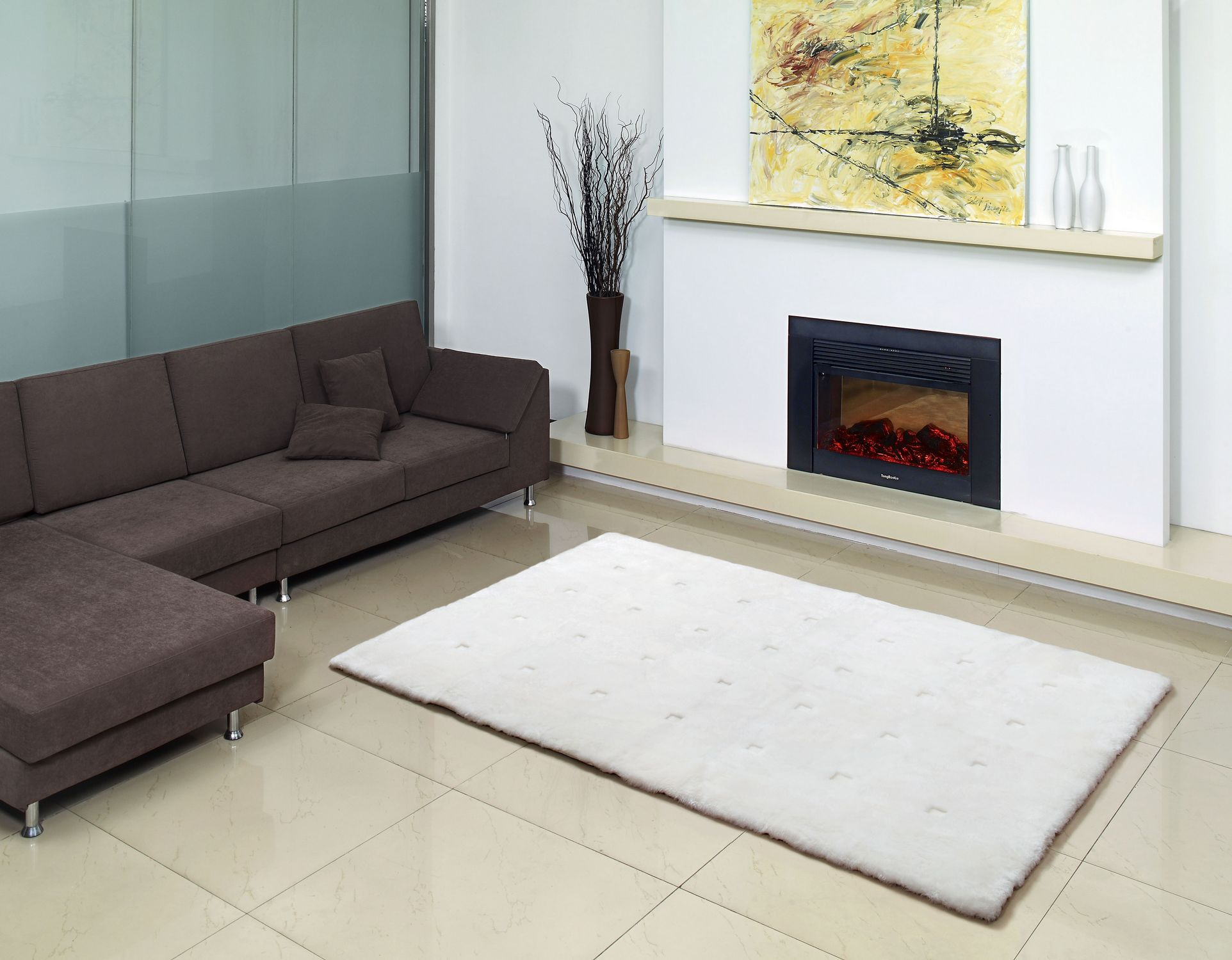 Fibre by Auskin Shearling Loft Collection Area Rug