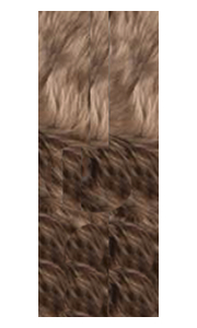 Fibre by Auskin Longwool Morchella Double Pelt Rugs.