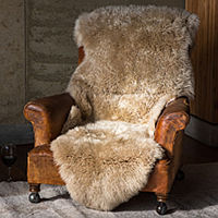 Fibre by Auskin Sheepskin Rug - Longwool Double Pelt