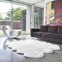 Auskin luxurious lambskin rugs are available in a range of sizes, grades and configurations that add texture, comfort, colour and style to the traditional home