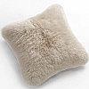 Fibre by Auskin Longwool & Shearling Sheepskin Decorative Pillows in Linen