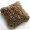 Fibre by Auskin Longwool & Shearling Sheepskin Decorative Pillows in Taupe