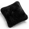 Fibre by Auskin Longwool & Shearling Sheepskin Decorative Pillows in Black
