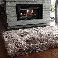 A selection of the finest quality natural lambskins is used to create a stunning collection of longwool design rugs for the home.