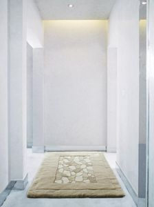 Auskin Shearling Nature/Stones Rug - Room View