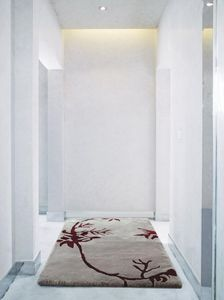 Auskin Shearling Nature/Vines Rug - Room View