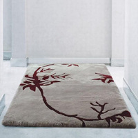 These artistic lambs wool designed rugs by Auskin are inspired by the nature's magnificence.