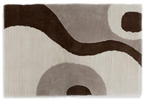 Auskin Shearling Organics/Earth Rug - Close Up