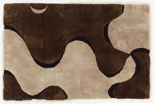 Auskin Shearling Organics/Fusion Rug - Close Up