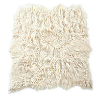 Auskin Artic Icelandic six pelt will add warmth to room decor.