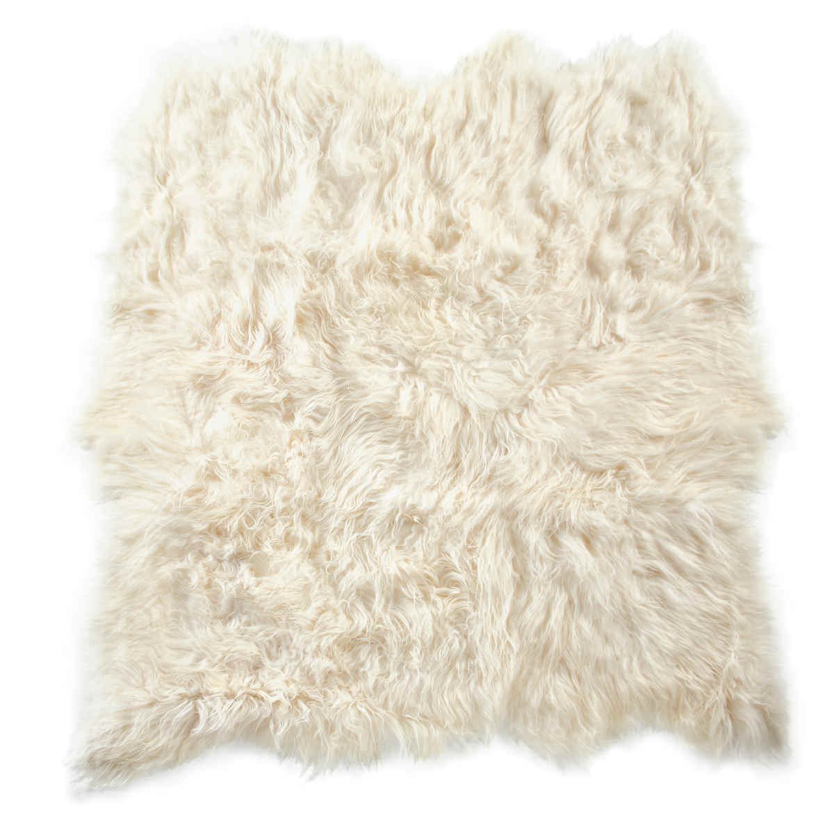 Fibre by auskin artic icelandic sheepskin six pelt rug for Fur rugs