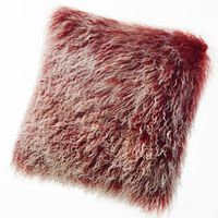 Auskin Tibetan Pillow & Cushions - Berry.