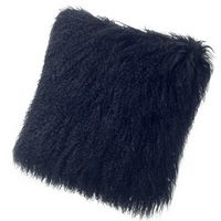 Auskin Tibetan Pillow & Cushions - Black.
