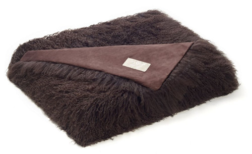 Auskin Tibetan Pillow & Cushions - Chocolate.