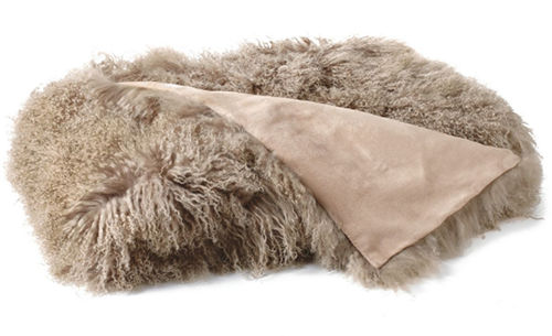 Auskin Tibetan Pillow & Cushions - Dune.