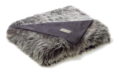 Auskin Tibetan Pillow & Cushions - Frost.