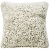 Fibre by Auskin Lambskin Curly  Pillow - Bamboo Color (22x22)