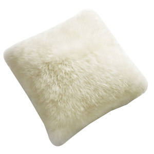 Fibre by Auskin Sheepskin Cushion in Ivory