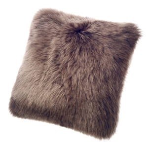 Fibre by Auskin Sheepskin Cushion in Walnut