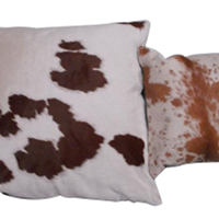 Spotted or Speckled Cowhide Decorative Pillow