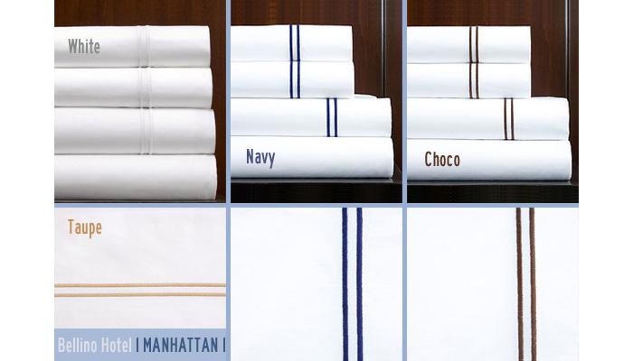 Bellino Manhattan Hotel Collection Luxury Bedding