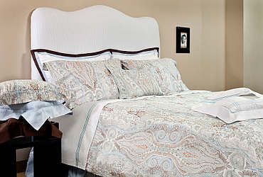 Bellino Paisley Quilted Bedding