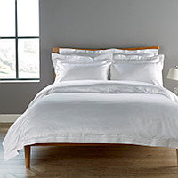 Christy's most luxurious plain dyed bed linen, designed to be the ultimate finishing touch to your bedroom.