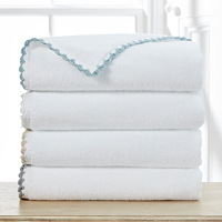 The Harlington towel collection provides a unique and distinctive addition to your bathroom.