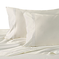 A sumptuous plain dyed bed linen, designed to reflect a sophisticated style.