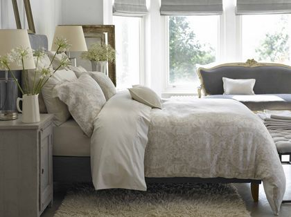Christy England Salisbury Bedding - Duvet & Shams