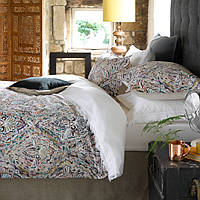 Shanti makes a statement with its painterly design and rich colorpalette.