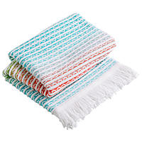 The perfect beach and pool accessory from Christy's hammam beach towel collection.