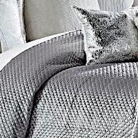 Cloud9 Design Amani Light Grey Coverlet/Sham