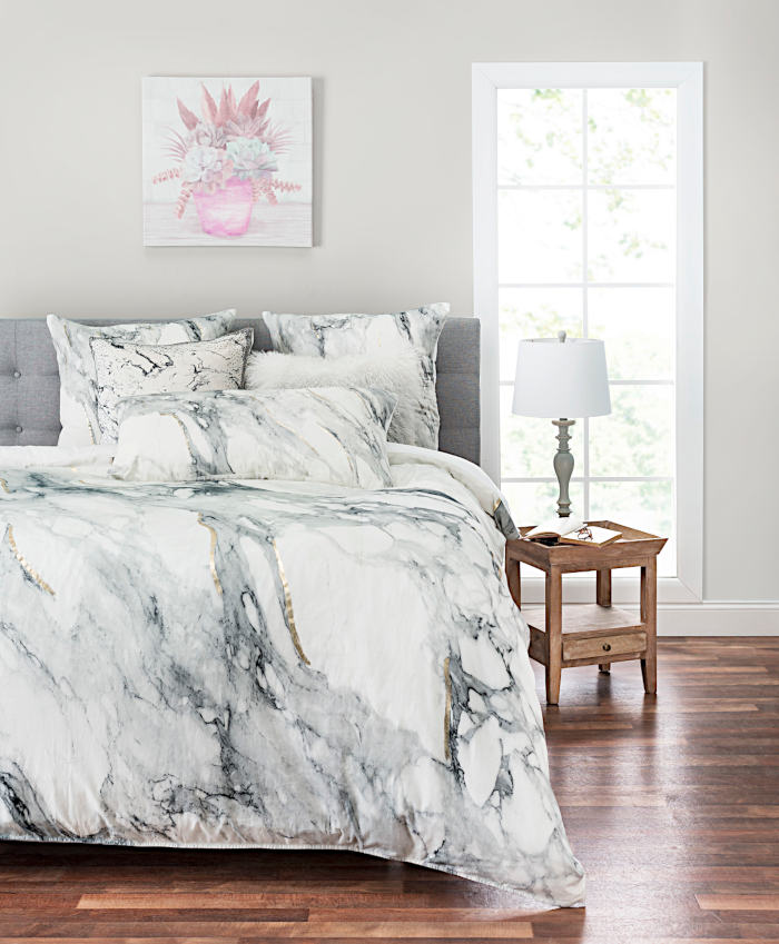 Cloud9 Design Marble Duvet & Sham