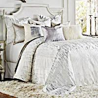 Cloud9 Design Zilar White/Silver Duvet & Sham