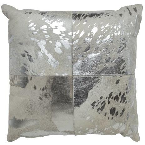 Cloud9 Design 11299A-SV (20x20) Silver Canaan Decorative Pillow