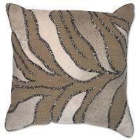 Cloud9 Design 12689 Series Cowhide Hand Beaded Decorative Pillows