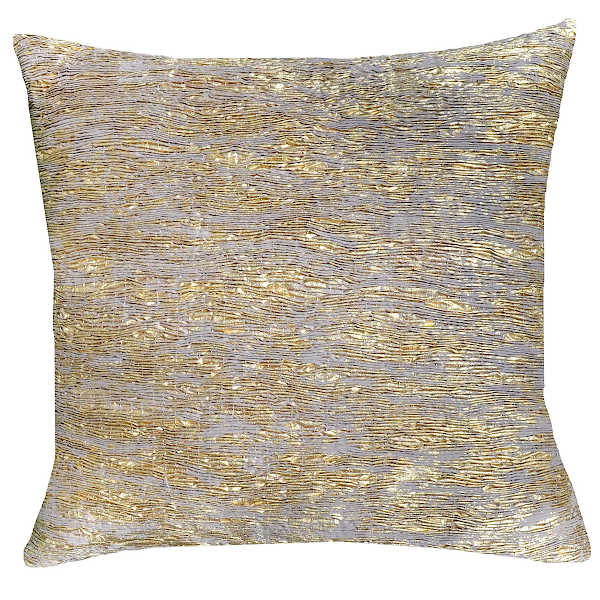 Cloud9 Design ARANKA04J-GD (22x22) Aranka Textured Decorative Pillow