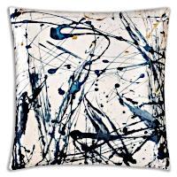 Cloud9 Design ARLES01J-BL (22x22) Arles Decorative Pillow
