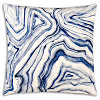 Cloud9 Design ARLES02J-BL (22x22) Decorative Pillow