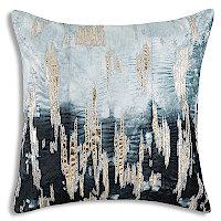 Cloud9 Design Boheme Shibori Tie Dye in Navy Decorative Pillow